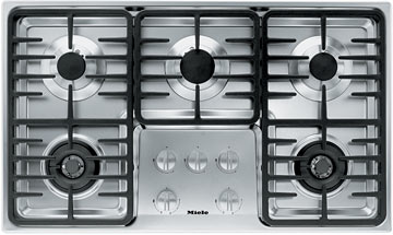 Silver Gas Cooktop for sale at Bill Vandegrift Appliances