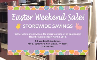 Easter Weekend Sale